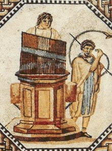 The water organ (or hydraulis). & Our Pipe Organ   First Presbyterian Church of San Bernardino