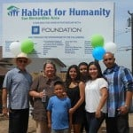 Habitat house dedication